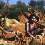 Remote Outback Aborigines